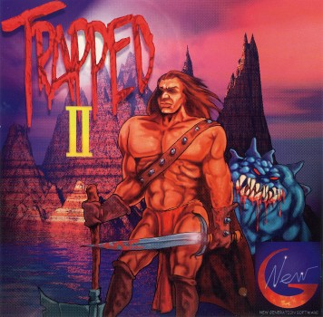 TrappedII - Cover (front)